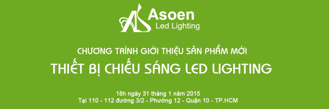 Họp báo ra mắt sản phẩm mới led lighting